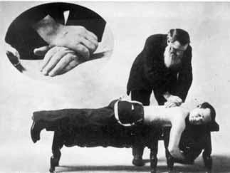 D.D. Palmer ajusta a Shegetaro Morikubo, 1906
